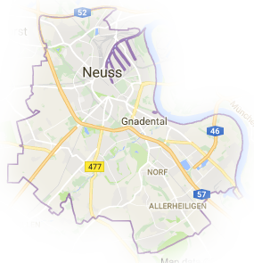 Stadtteile von Neuss